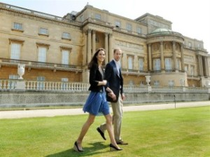 The Duke and Dutchess of Cambridge