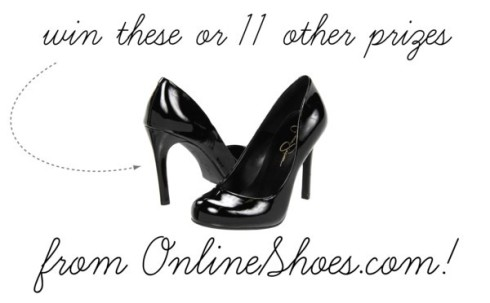 win these or 11 other prizes from OnlineShoes.com!